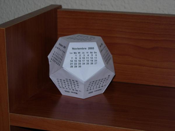 Calendario dodecaedrico