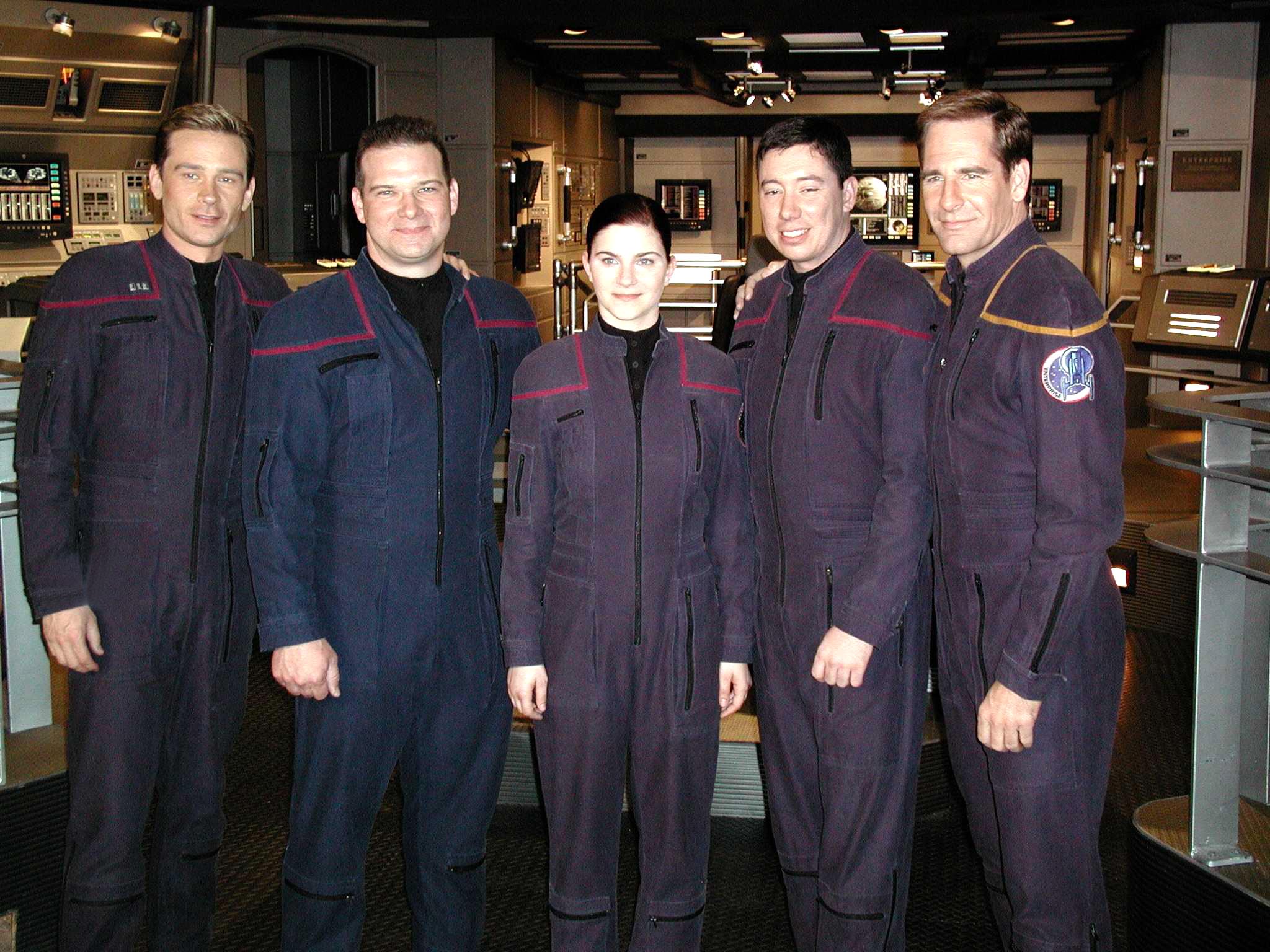 Enterprise Fans meet cast members