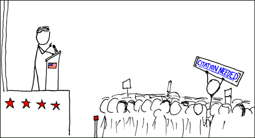 xkcd - Wikipedian protester