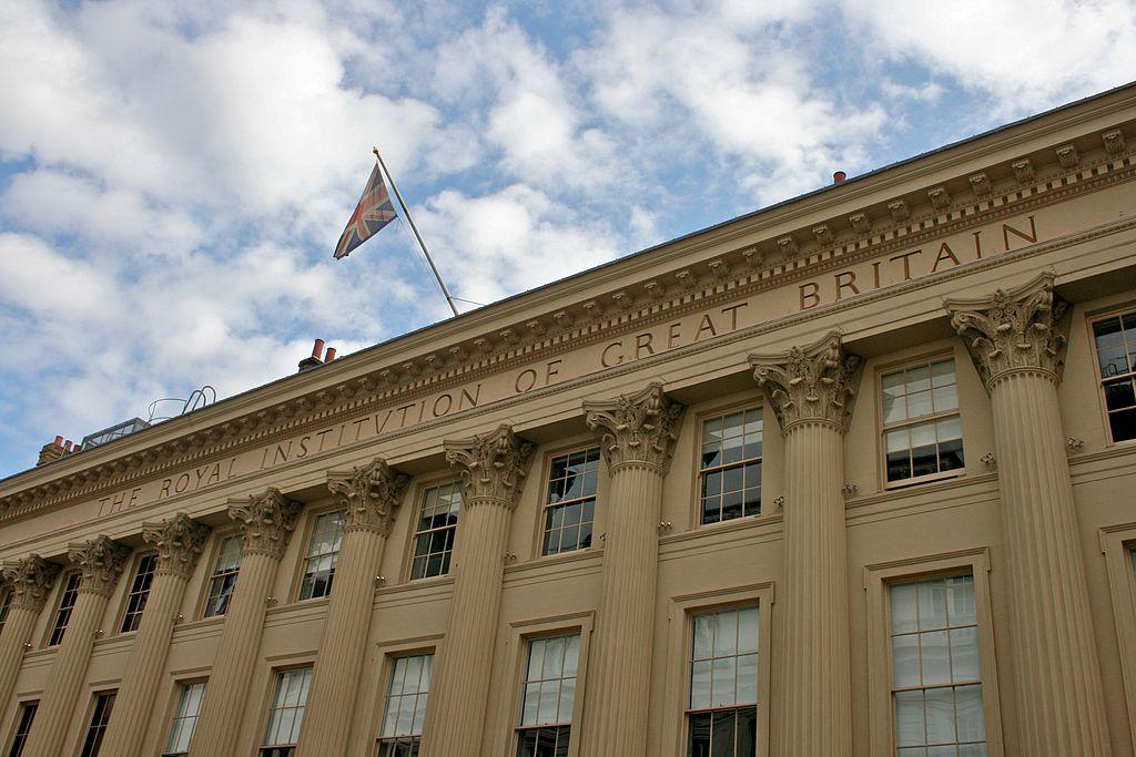 The Royal Institution, London, UK.