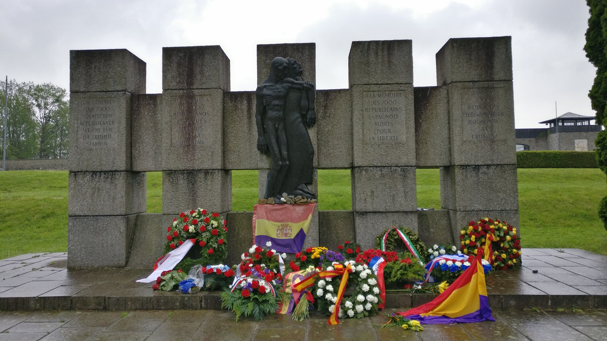 Mauthausen Spanish memorial