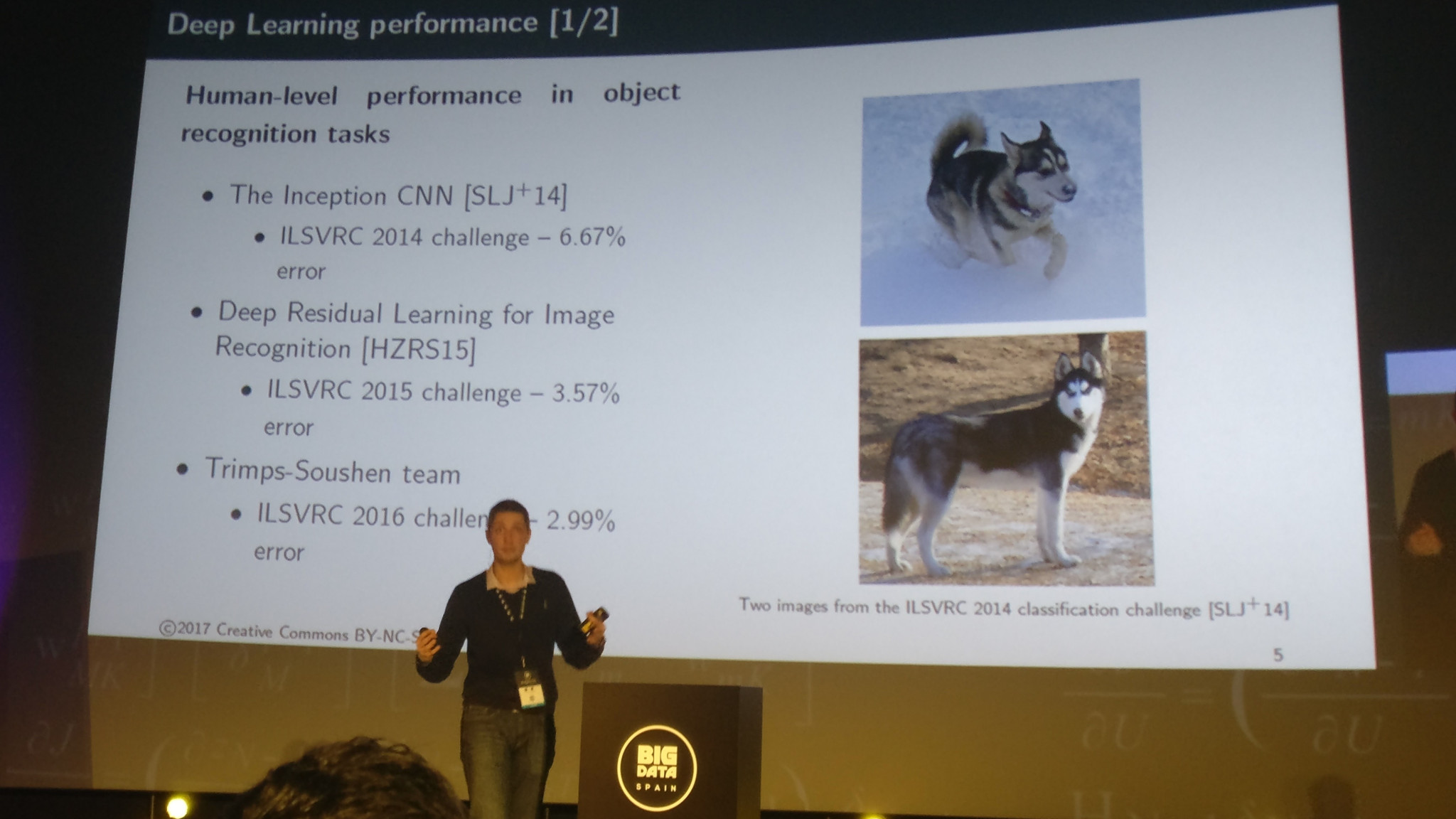 Deep Learning performance vs human-level performance in object recognition tasks