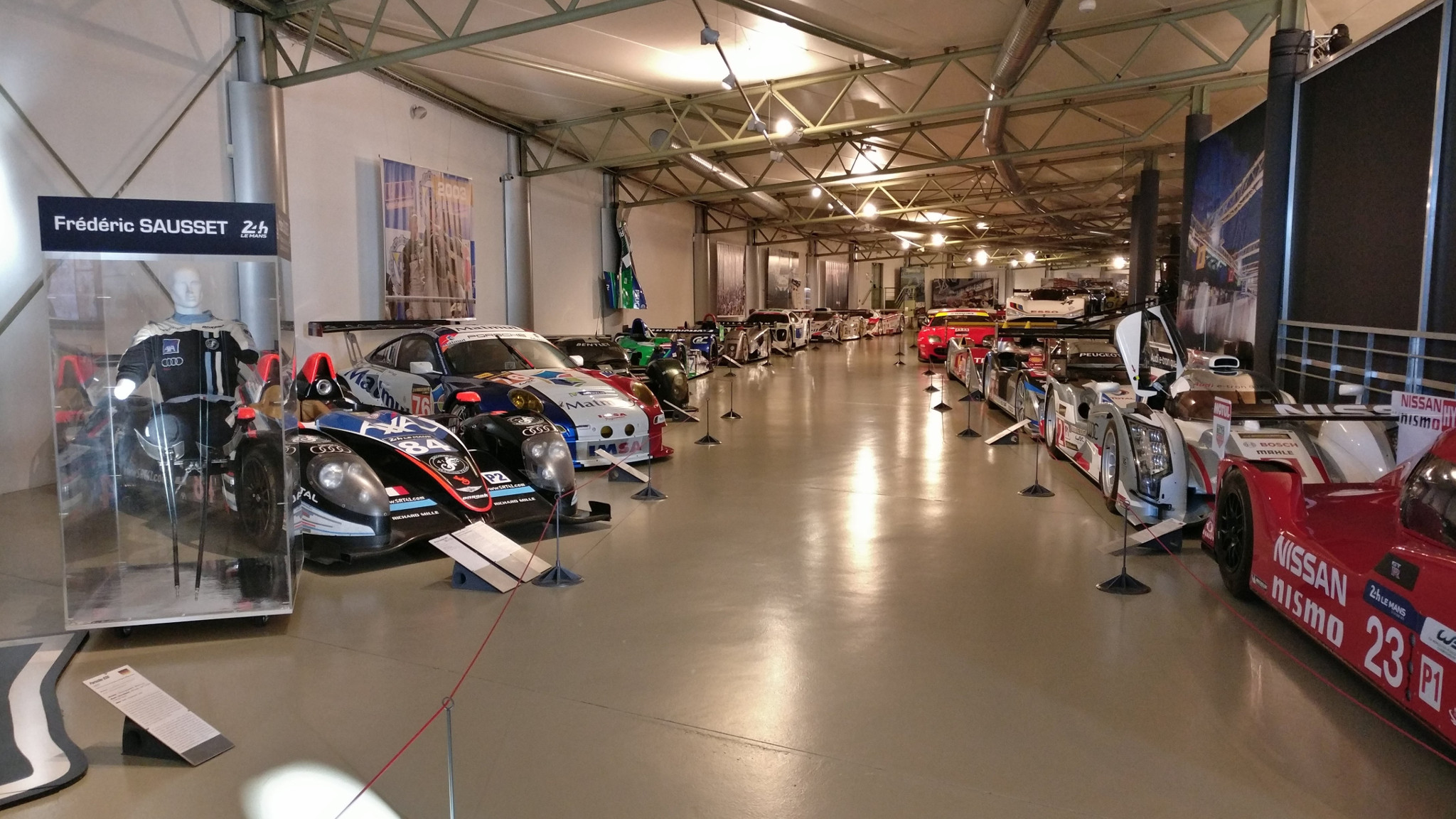 The last items in the collection of the Museum of the 24 Hours of Le Mans